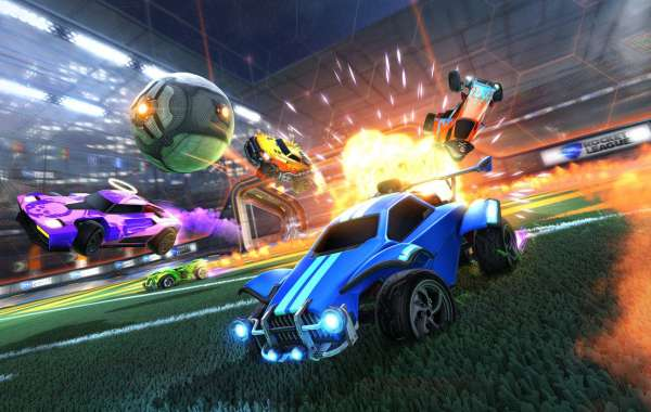 Rocket League is attraction obviously rests on its aggressive play